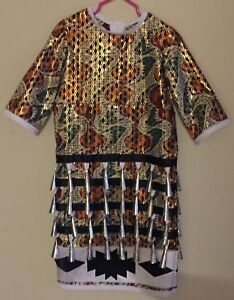 Girls size 2-4 Jingle Dress