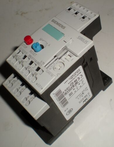 ELECTRICAL SIEMENS 3RU1116-0EC1 THERMAL OVERLOAD RELAY SIZE S00 0.28-0.4A RANGE