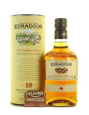 Edradour 10 Jahre Highland Single Malt Scotch Whisky 0,7l, alc. 40 Vol.-%