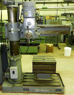 Morey Hercules 3 8 Radial Arm Drill With Riser Table Auto Feed M9 Wvs
