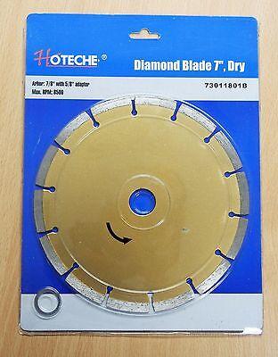 7 Diamond Blade Dry Segmented