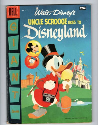 Dell Giant Uncle Scrooge