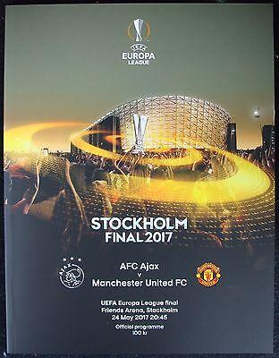 UEFA EUROPA LEAGUE  FINAL 2017 Manchester United v Ajax @ Stockholm