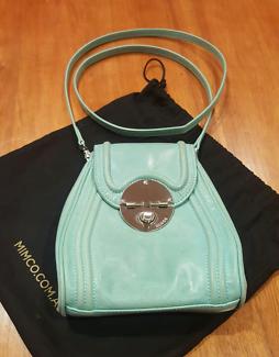 MIMCO Offbeat Hip bag- Light Aqua colour & Silver Hardware Used