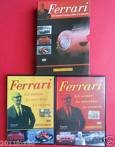 dvd-enzo-ferrari-automobilismo-formula-1-formula-uno-formula-one-world-f1-250gto