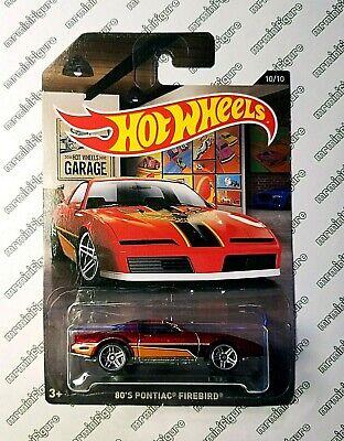 (x1) Hot Wheels Garage - 80s PONTIAC FIREBIRD - Combo shipping, buy more to save