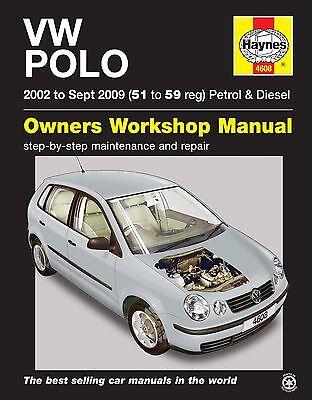 Volkswagen VW Polo Petrol Diesel 2002 - 2009 Haynes Manual 4608 NEW