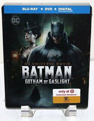 Batman Gotham by Gaslight Steelbook - Bluray/DVD - Target Exclusive