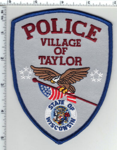 Village of Taylor Police (Wisconsin) 1st Issue Shoulder Patch