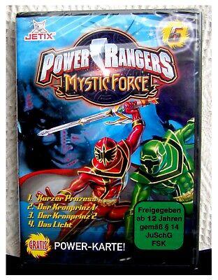 Nr. 6 DVD POWER RANGERS MYSTIC FORCE  - Jetix - OVP ( Powerrangers )wie neu ! (Power Rangers Dvds)