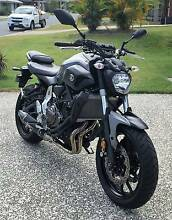 2015 Yamaha MT-07 Willow Vale Gold Coast North Preview