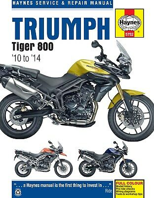 5752 Haynes Triumph Tiger 800 2010 - 2014 Workshop Manual