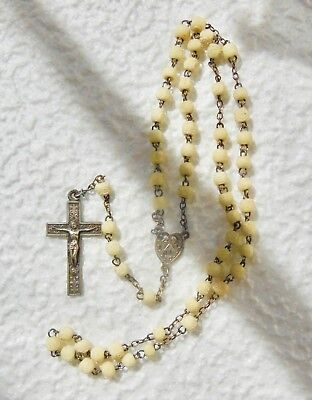 ROSARY antique ,Ball carved - ROSARY