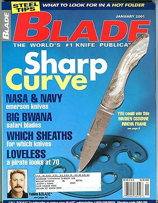 Blade Magazine January 2001 Warren Osborne Innova Frame Ex W Ml 101416Jhe