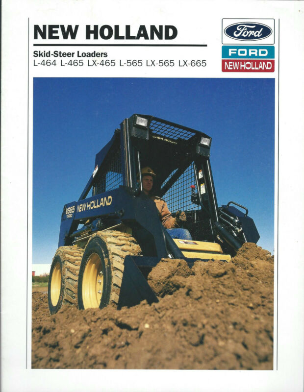 Equipment Brochure - New Holland - L-464 et al Skid Steer Loader - 1993 (E3068)