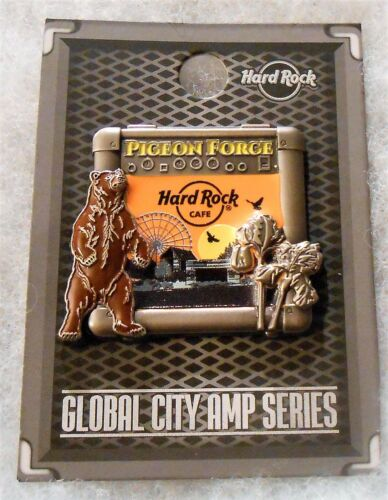 HARD ROCK CAFE PIGEON FORGE 3D GLOBAL CITY AMP SERIES LTD EDITION PIN # 618475