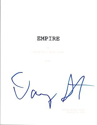 Danny Strong Signed Autographed EMPIRE Pilot Episode Script COA VD (Empire Pilot Episode)