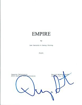 Danny Strong Signed Autographed EMPIRE Pilot Episode Script COA  (Empire Pilot Episode)