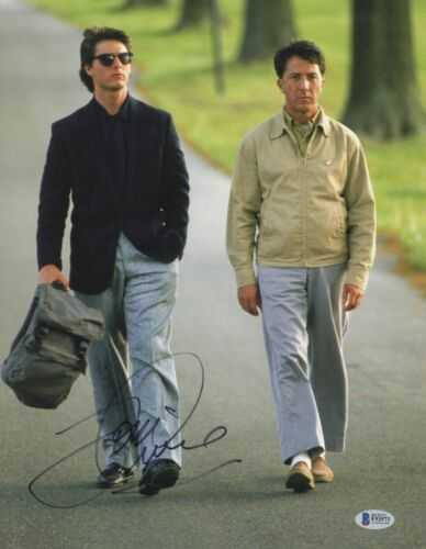 TOM CRUISE SIGNED 'RAIN MAN' 11X14 PHOTO AUTHENTIC AUTOGRAPH BECKETT