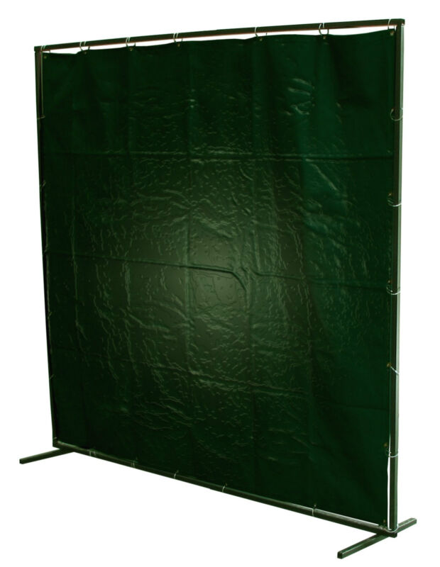 Welding Curtains * WITH FRAMES * PVC / Fibreglass 8