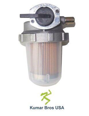 New Kubota Fuel Filter Assembly L2550 L2650 L2850 L2900 L2950 L3010 L3130 L3240