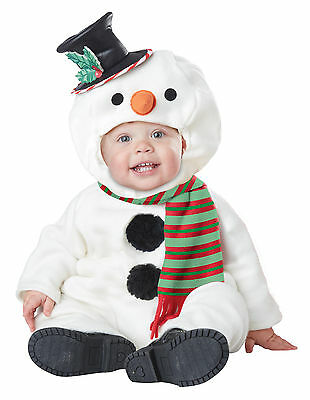 Christmas Frosty the Snowman Infant Baby Costume Baby Snowman Infant Costume