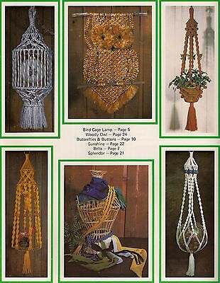Bird Cage Lamp & Plant Hanger Patterns - Craft Book: What in the Macrame is - Macrame Plant Hanger Patterns