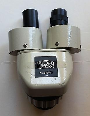 Kyowa Tokyo Binocular Microscope Head Japan