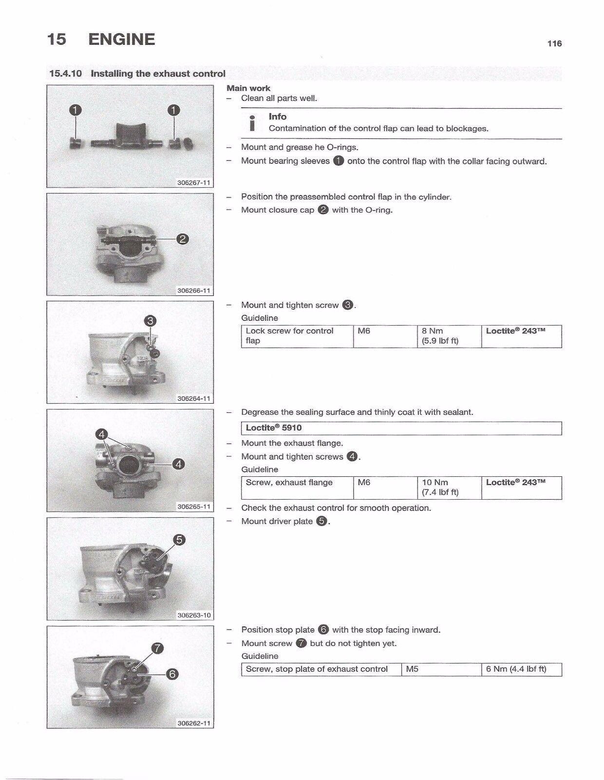 8 of 9 Husqvarna workshop service manual 2016 TC 85