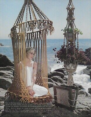 New Ideas with Macrame Pattern Book Double Plant Hanger Chair Hamper Lamp - Macrame Plant Hanger Patterns