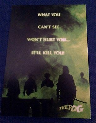 John Carpenter The Fog promotional postcard, new would look great framed