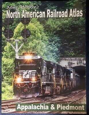 Mike Walker's SPV NORTH AMERICAN RAILROAD ATLAS - APPALACHIA & PIEDMONT 2019 Ed