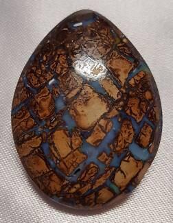 Queensland Fossil Opals, Koroit x 2