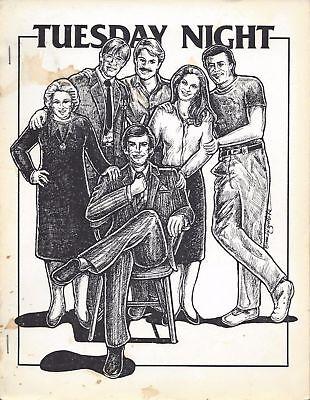 Remington Steele Riptide Fanzine  Tuesday Night  Gen Fanfiction
