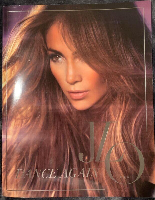 JENNIFER LOPEZ JLO 2012 Dance Again Tour Book