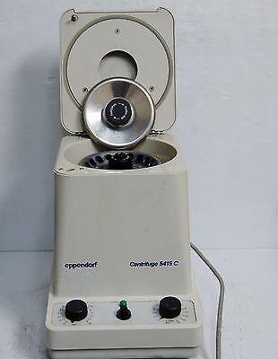 Eppendorf 5415c Centrifuge W Rotor And Lid 12499