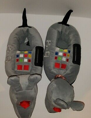 Doctor Who K-9 Slippers New  S/M  9