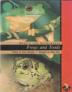 WHAT'S THE DIFFERENCE?  FROGS AND TOADS Harry Breidahl 1993 Perth Region Preview