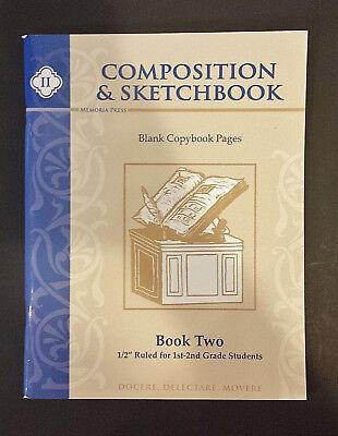 MEMORIA PRESS Composition & Sketchbook - Book Two for 1st & 2nd grade