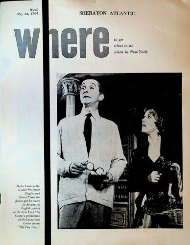 Sheraton Atlantic Where To Go In New York City May 23 1964 World