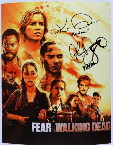 Fear The Walking Dead Madison Cast Autograph Signed Photo JSA 11x14