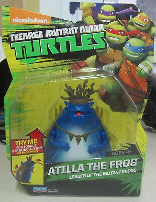 Schildkröten Mutant Ninja Turtles (Schildkröten Teenage mutant Ninja turtles Atilla The Frog leader Figur 11 cm)
