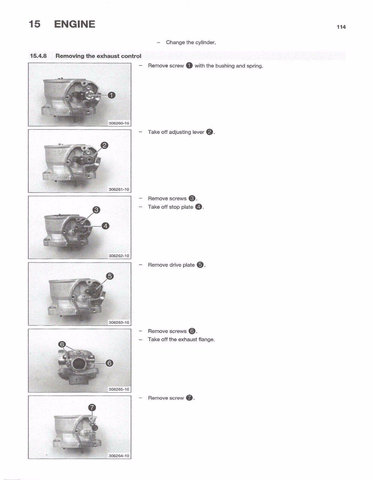 6 of 9 Husqvarna workshop service manual 2016 TC 85