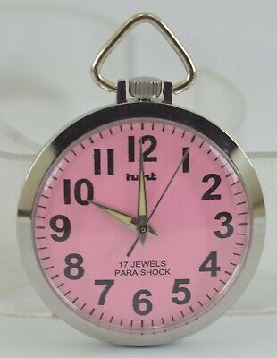 Vintage HMT 17Jewels Winding Pocket Watch For Unisex Use Working Good D-255-17
