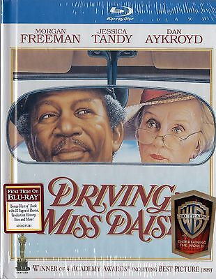 Driving Miss Daisy  Blu Ray Disc  2013  With 32 Pg Book  Morgan Freeman  New