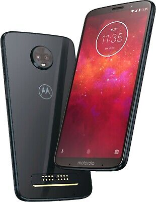 Motorola Moto Z3 XT1929-17 - 64GB - Black (Unlocked)