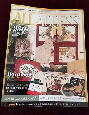 BOGO  OCTOBER 2017 ALL ACCESS Embroidery Machine CD  (CD ONLY)
