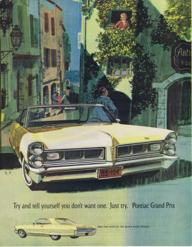 1965 Advertisement - PONTIAC GRAND PRIX