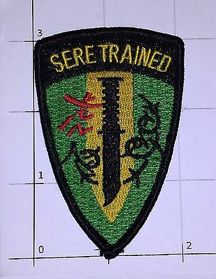 US Navy SERE Trained Survival Evasion Resistance Escape Knife Military Patch