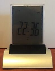 New Desktop Digital Clock W/ Date, Alarm, Countdown Timer, Temperature